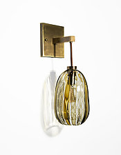 Glass Sconce by Tracy Glover (Art Glass Sconce)