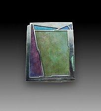 Moss Pin No. 220 by Carly Wright (Enameled Pin)