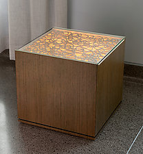 Elio II End Table by Muhammad Moussa (Ceramic Side Table)