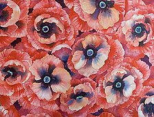 Poppy Field by Helen Klebesadel (Watercolor Painting)