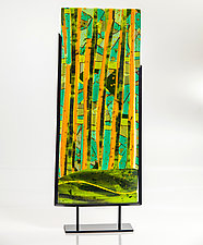 Evergreen by Varda Avnisan (Art Glass Sculpture)