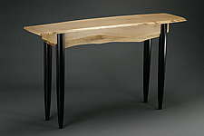 Canyon Sofa Table by Peter F. Dellert (Wood Console Table)