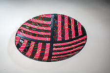 Sunset Maze by Varda Avnisan (Art Glass Bowl)