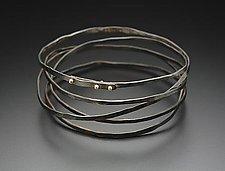 Wrap Bracelet by Peg Fetter (Gold & Steel Bracelet)