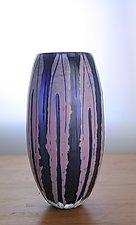 Barrel Vase 2 by Richard S. Jones (Art Glass Vase)