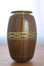 Nageire  Vase 3 by Richard S. Jones (Art Glass Vase)