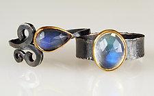 Moonstone Rings by Natasha Wozniak (Gold, Silver & Stone Ring)