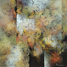 Autumn's Mix by Nancy Eckels (Acrylic Painting)