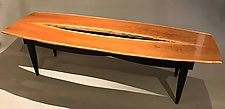 Cherry Canyon Coffee Table by Peter F. Dellert (Wood Coffee Table)