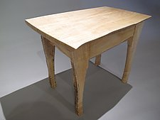 Small Faun Table by Peter F. Dellert (Wood Side Table)