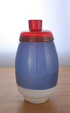 Multi-Incalmo Vase by Richard S. Jones (Art Glass Vase)