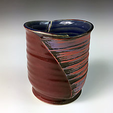 Folded Cup I by Thomas Harris (Ceramic Cup)