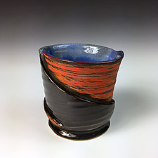 Folded Cup III by Thomas Harris (Ceramic Cup)