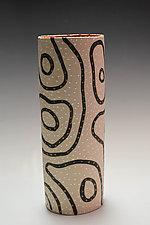 Blackline Vase by Vaughan Nelson (Ceramic Vase)