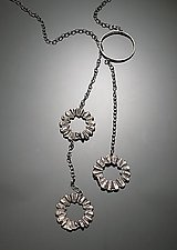 Lariat Necklace by Ashley Vick (Silver Necklace)
