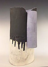 Silent Rain by Loren Yagoda (Ceramic Sculpture)