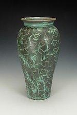 Zig Zag Puzzle Vessel V by Lance Timco (Ceramic Vase)