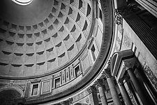 Pantheon 1 by John Maggiotto (Black & White Photograph)