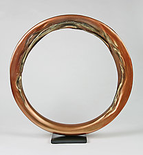 Infinity Circle by Cheryl Williams (Ceramic Sculpture)