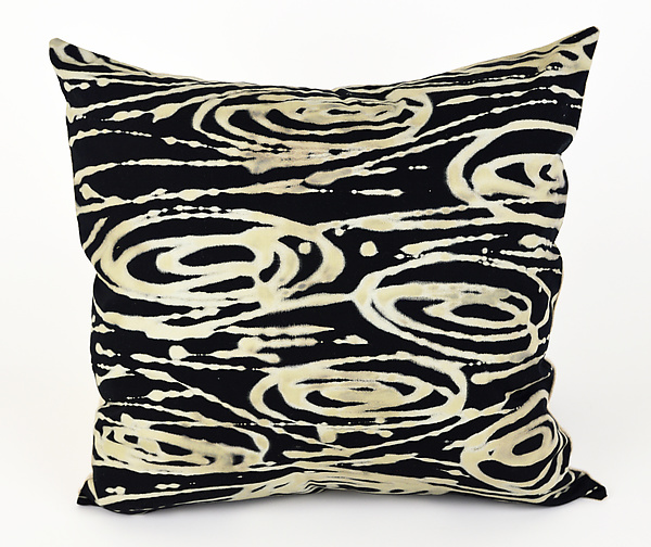 Big Swirls Pillow II