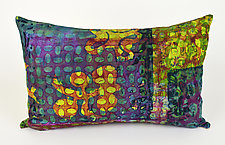 Bohemian Medley Pillow by Ayn Hanna (Cotton & Linen Pillow)
