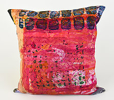 Street Scenes Pillow by Ayn Hanna (Cotton & Linen Pillow)