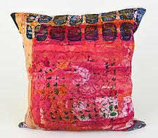 Street Scenes Pillow by Ayn Hanna (Cotton & Linen Pillow)