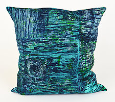 Tide Pools Pillow by Ayn Hanna (Cotton & Linen Pillow)