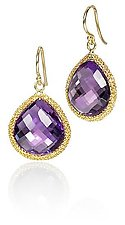 Amethyst Candy Drop Earrings by Sara Freedenfeld (Gold & Stone Earrings)