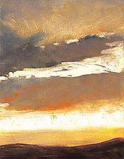 Cloud Fragment by Ken Elliott (Giclee Print)