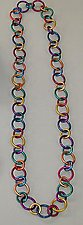 Rainbow Ring Necklace by Sylvi Harwin (Aluminum Necklace)