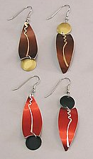 RT4 Earrings by Sylvi Harwin (Aluminum Earrings)