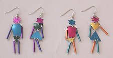 MW2 Earrings by Sylvi Harwin (Aluminum Earrings)