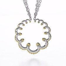 Gold Garland Necklace by Ellen Himic (Gold & Silver Necklace)