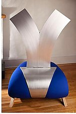 Venus by Nathalie Guez (Aluminum & Upholstered Chair)