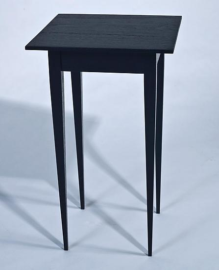 small side table by karel aelterman wood side table