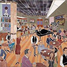 Bar Scene No. 2 by Jonathan I. Mandell (Giclee Print)