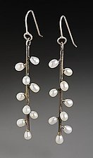 Twig Earrings by Randi Chervitz (Silver & Pearl Earrings)