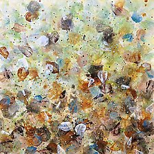 Scattered by Marlene Sanaye Yamada (Acrylic Painting)