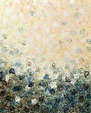 Shoreline Surge by Marlene Sanaye Yamada (Acrylic Painting)