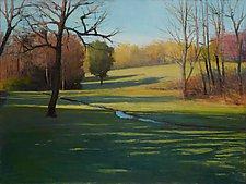 Field Creek by David Skinner (Acrylic Painting)