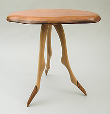 Table 18 by Charles Adams (Wood Side Table)