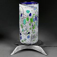 Jungle Jewels (Large Lamp Studio Protoype) by Eric Bladholm (Art Glass Table Lamp)