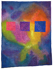 Colorfields: Spectrolite by Michele Hardy (Fiber Wall Hanging)