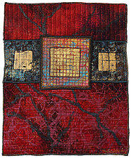 Surfaces #4 by Michele Hardy (Fiber Wall Hanging)