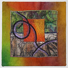 Surfaces #1 by Michele Hardy (Fiber Wall Hanging)