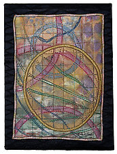 Elements #11 by Michele Hardy (Fiber Wall Hanging)