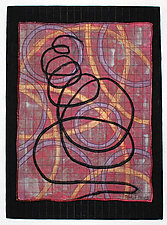 Directions #19 by Michele Hardy (Fiber Wall Art)