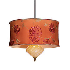 Harry Pendant by Susan Kinzig and Caryn Kinzig (Mixed-Media Pendant Lamp)