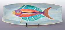 Fish in a Dish! by Rod  Hemming (Ceramic Platter)